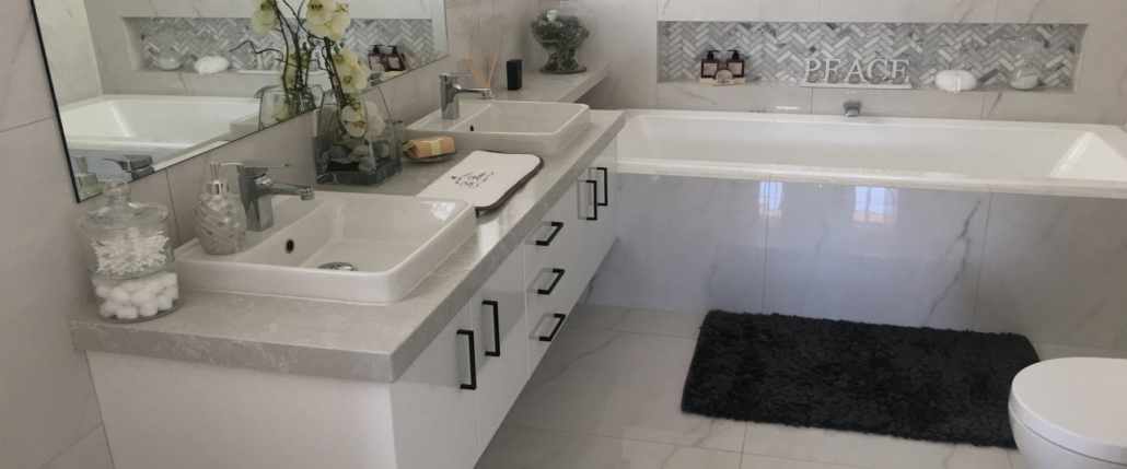 Stone Suppliers - BMC Stone bathroom vanity and surrounds